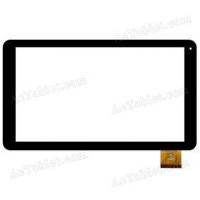 XF20150105 HK10DR2512 Digitizer Glass Touch Screen Replacement for 10.1 Inch MID Tablet PC