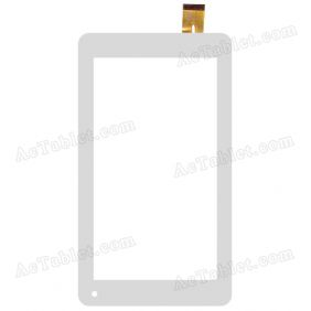 GT70M706 FPC Digitizer Glass Touch Screen Replacement for 7 Inch MID Tablet PC