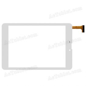 GT78PGSTL8312 Digitizer Glass Touch Screen Replacement for 7.9 Inch MID Tablet PC