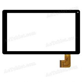 ZYD101-19V01 Digitizer Glass Touch Screen Replacement for 10.1 Inch MID Tablet PC
