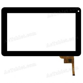 QSD E-C97003-02 Digitizer Glass Touch Screen Replacement for 9 Inch MID Tablet PC