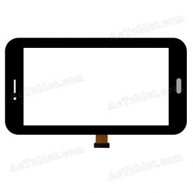 RSD-005-009 Digitizer Glass Touch Screen Replacement for 7 Inch MID Tablet PC