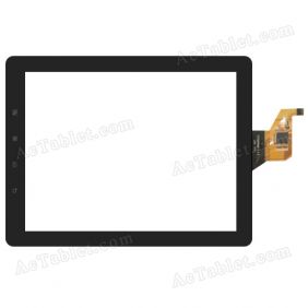 TTCT080020-V5.0 Digitizer Glass Touch Screen Replacement for 8 Inch MID Tablet PC