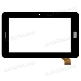 T0PSUN_C0105(C0B)_A1 Digitizer Glass Touch Screen Replacement for 7 Inch MID Tablet PC