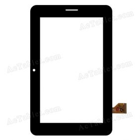 FPC-C070T1117AA0 Digitizer Glass Touch Screen Replacement for 7 Inch MID Tablet PC