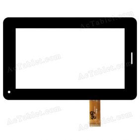GM070004G-FPC-2 Digitizer Glass Touch Screen Replacement for 7 Inch MID Tablet PC