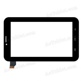LHJ0232-F70A1 FPC V02 Digitizer Glass Touch Screen Replacement for 7 Inch MID Tablet PC