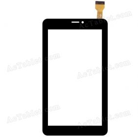 GT70PHK71 FPC Digitizer Glass Touch Screen Replacement for 7 Inch MID Tablet PC
