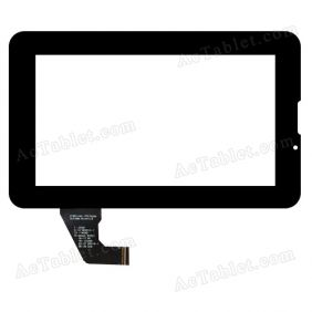 C190114A1-FPC702DR Digitizer Glass Touch Screen Replacement for 7 Inch MID Tablet PC