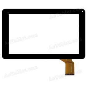HJ133PEG00A-FPC Digitizer Glass Touch Screen Replacement for 9 Inch MID Tablet PC