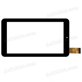 Digitizer Touch Screen Replacement for Unisurf USFT60U7BLK 7 Inch Quad Core A33 Tablet PC