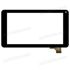 C186104E5-FPC790DR GSL1680 Digitizer Glass Touch Screen Replacement for 7 Inch MID Tablet PC