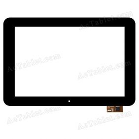 HN1010-VS1 Digitizer Glass Touch Screen Replacement for 10.1 Inch MID Tablet PC