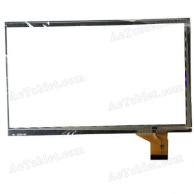 ZHC-322A Digitizer Glass Touch Screen Replacement for 7 Inch MID Tablet PC
