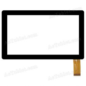 TYF1012V9 Digitizer Glass Touch Screen Replacement for 7 Inch MID Tablet PC