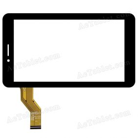 HC186104H1-FPC837DR Digitizer Glass Touch Screen Replacement for 7 Inch MID Tablet PC