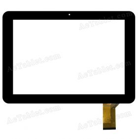 WJ-DR10031-FPC Digitizer Glass Touch Screen Replacement for 10.1 Inch MID Tablet PC