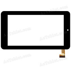 HK70DR2410-V01(XF20140801) Digitizer Glass Touch Screen Replacement for 7 Inch MID Tablet PC