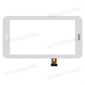 TPC1351 VER4.0 Digitizer Glass Touch Screen Replacement for 7 Inch MID Tablet PC
