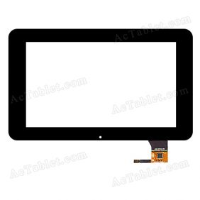 ACE-CG7.0C-168 Digitizer Glass Touch Screen Replacement for 7 Inch MID Tablet PC