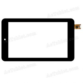 A0213-F0-B Digitizer Glass Touch Screen Replacement for 7 Inch MID Tablet PC