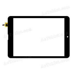 DY-F-07032-V1 Digitizer Glass Touch Screen Replacement for 7.9 Inch MID Tablet PC