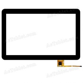 RS10F1609043PSV1.6 Digitizer Glass Touch Screen Replacement for 10.1 Inch MID Tablet PC