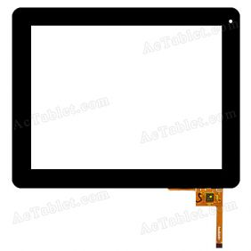 QSD E-C97003-08 Digitizer Glass Touch Screen Replacement for 9.7 Inch MID Tablet PC
