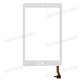 Digitizer Touch Screen Replacement for PiPo W2F Z3735F Quad Core 8 Inch Windows Tablet PC