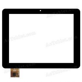 PB80DR8201 Digitizer Glass Touch Screen Replacement for 8 Inch MID Tablet PC