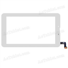 CTD FM715301KA FHX Digitizer Glass Touch Screen Replacement for 7 Inch MID Tablet PC
