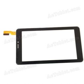 YCF0378-B Digitizer Glass Touch Screen Replacement for 7 Inch MID Tablet PC