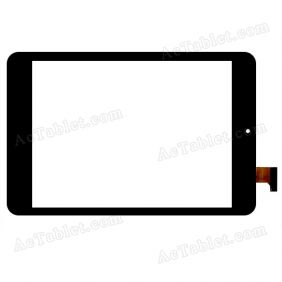 YCF0456-A Digitizer Glass Touch Screen Replacement for 7.9 Inch MID Tablet PC
