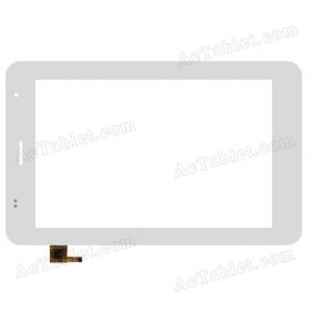 100-070F-1217 E Digitizer Glass Touch Screen Replacement for 7 Inch MID Tablet PC
