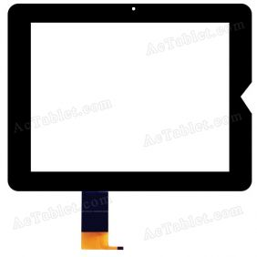 PB97DR8070-05 Digitizer Glass Touch Screen Replacement for 9.7 Inch MID Tablet PC