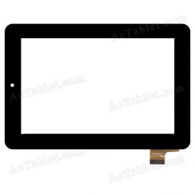 NJG070096AEG0B-V2 Digitizer Glass Touch Screen Replacement for 7 Inch MID Tablet PC