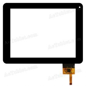 300-N3708A-800-VER1.0 Digitizer Glass Touch Screen Replacement for 8 Inch MID Tablet PC