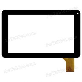 TE-0900-0051 Digitizer Glass Touch Screen Replacement for 9 Inch MID Tablet PC