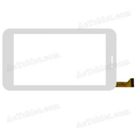 XN1232V1 Digitizer Glass Touch Screen Replacement for 7 Inch MID Tablet PC