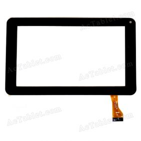GM061-D-FPC Digitizer Glass Touch Screen Replacement for 7 Inch MID Tablet PC