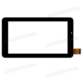 XCL-S70030A-FPC1.0 Digitizer Glass Touch Screen Replacement for 7 Inch MID Tablet PC