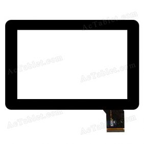 GFT070ST008-FPC-V1.0 Digitizer Glass Touch Screen Replacement for 8 Inch MID Tablet PC