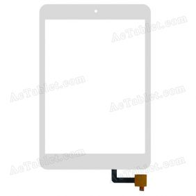 OLM-078D0638-FPC Digitizer Glass Touch Screen Replacement for 7.9 Inch MID Tablet PC