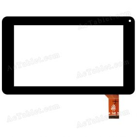 RS7F243_V1.1 Digitizer Glass Touch Screen Replacement for 7 Inch MID Tablet PC