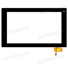 RS10F130_V1.3 Digitizer Glass Touch Screen Replacement for 10.1 Inch MID Tablet PC