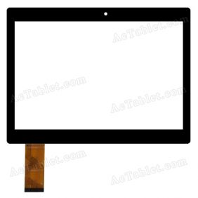 CTP-0337 Digitizer Glass Touch Screen Replacement for 10.1 Inch MID Tablet PC