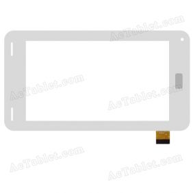 DH-0727A1-FPC039-02 Digitizer Glass Touch Screen Replacement for 7 Inch MID Tablet PC