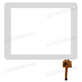 RS8F188_V1.0 Digitizer Glass Touch Screen Replacement for 8 Inch MID Tablet PC