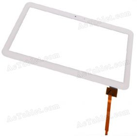 RS10F440_V1.2 Digitizer Glass Touch Screen Replacement for 10.1 Inch MID Tablet PC
