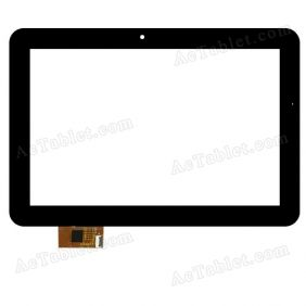 A11020A10050_V2.0 Digitizer Glass Touch Screen Replacement for 10.1 Inch MID Tablet PC